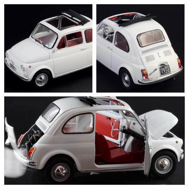 タミヤ イタレリ 1/12 クラシックカーシリーズ フィアット 500F    エンタメ/ホビーのおもちゃ/ぬいぐるみ(模型/プラモデル)の商品写真