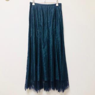 マーキュリーデュオ(MERCURYDUO)のMERCURYDUO(刺繍レーススカート)(ロングスカート)