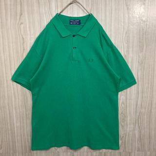 フレッドペリー(FRED PERRY)のFRED PERRY フレッドペリー 90s 刺繍ロゴ ベージュ ポロシャツ(ポロシャツ)