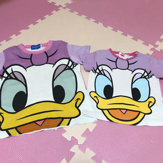 Disney - 東京ディズニーリゾート デイジー なりきり Tシャツ90 110 綿Disney