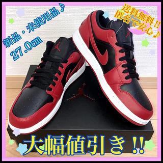 NIKE - AIR JORDAN 1 LOW GYM RED/BLACK-WHITE 正規品