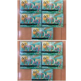 ソニー(SONY)のオーディオカセットテープ10個セット(その他)