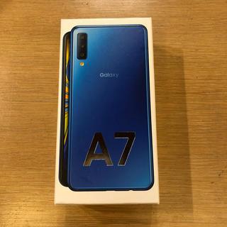 Galaxy A7 64GB ブルー
