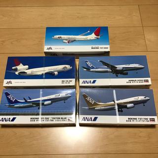 ハセガワ  1/200 ジェット旅客機 5個セット