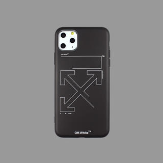 OFF-WHITE - シンプルでお洒落なデザイン  オフホワイト  iPhoneケース