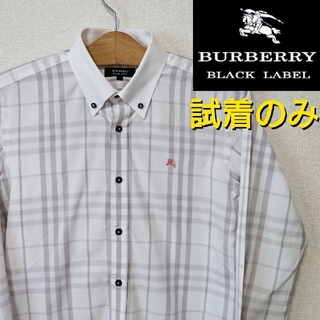 BURBERRY BLACK LABEL - 【試着のみ】BURBERRY BLACK LABEL シャドー チェック シャツ
