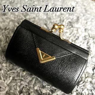 Saint Laurent - 綺麗め‼️YSL✨がま口❤️レザーコインケース(送料込)