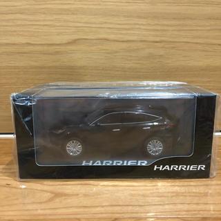 トヨタ - トヨタ 新型 ハリアー ミニカー 非売品 ブラック