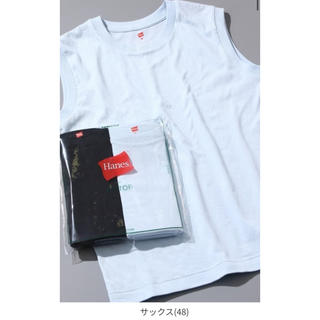 Adam et Rope' - 新品 Hanes for BIOTOP Sleeveless T-Shirts
