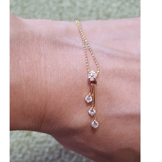 JEWELRY TSUTSUMI - 0.3カラット ダイヤモンドネックレス/ゴールド/TSUTSUMI