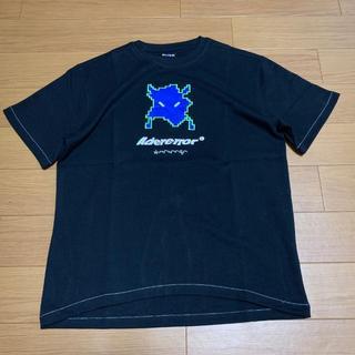 Adererror Tシャツ A1 アダーエラー Vader Tシャツ 黒