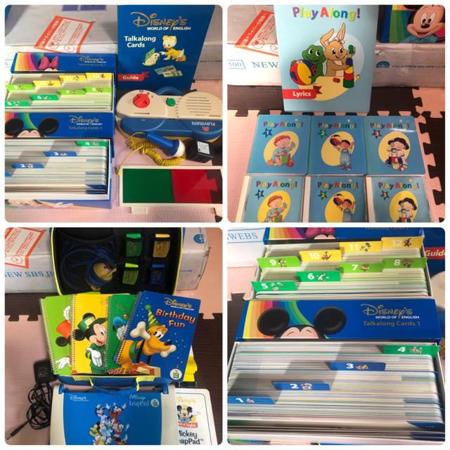 Disney(ディズニー)の専用棚付き 年ディズニー英語システム  DWE フルセット キッズ/ベビー/マタニティのおもちゃ(知育玩具)の商品写真