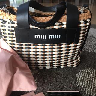 miumiu - 正規便ミュウミュウショルダーバック