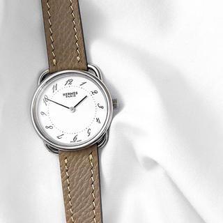 エルメス(Hermes)の【仕上済/ベルト2本】エルメス アルソー シルバー レディース 腕時計(腕時計)