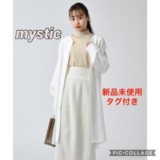 ミスティック(mystic)の【mystic】ロングBIGシャツ(シャツ/ブラウス(長袖/七分))