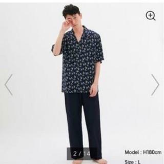 ジーユー(GU)の新品 タグ付き gu スヌーピー パジャマ 部屋着 メンズ(その他)