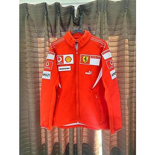 プーマ(PUMA)のチーム支給品 スクーデリアフェラーリ2006年 ジャケット(ジャージ)