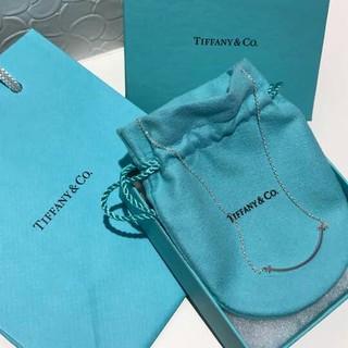 Tiffany & Co. - TIFFANY ティファニー Tスマイル ネックレス