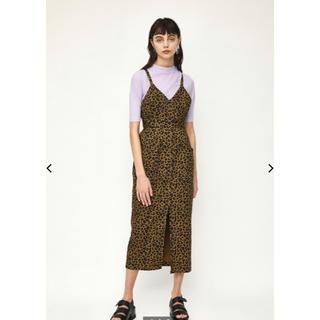 SLY - SLY レオパード ジャンパースカート 完売商品