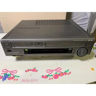 ソニー(SONY)のソニー・HI8&VHSダブルデッキ!モデル・WV-TW2!(その他)