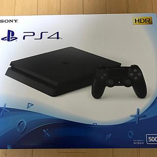 PlayStation4 - 【新品】プレイステーション4 本体  500GB プレステ4  ジェットブラック