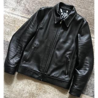 WACKO MARIA - 初期の名作 至極の逸品 裏地ポルノ柄 ワコマリア シングルライダースジャケット