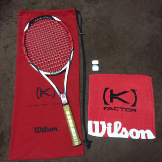 ウィルソン(wilson)のK six one TOUR Roger Federer(ラケット)
