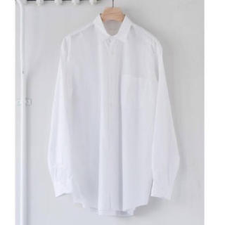 COMOLI - 17ss comoli コモリシャツ ホワイト サイズ1