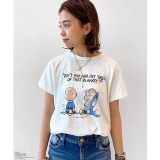 ドゥーズィエムクラス(DEUXIEME CLASSE)のMUSE CHARLIE BROWN T-SHIRT Tシャツ(Tシャツ(半袖/袖なし))