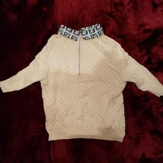 カルヴェン(CARVEN)のカルヴェン 襟つきカットソー(カットソー(半袖/袖なし))