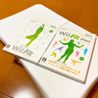 Wii - Wii Fit Plus + Wii Fit + Wiiバランスボード3点セット