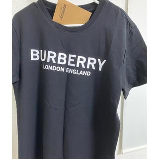 BURBERRY バーバリー ロゴ Tシャツ ブラック 黒