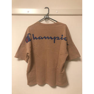 Champion - ビッグスウェットプリントクルー  チャンピオン スウェット tシャツ