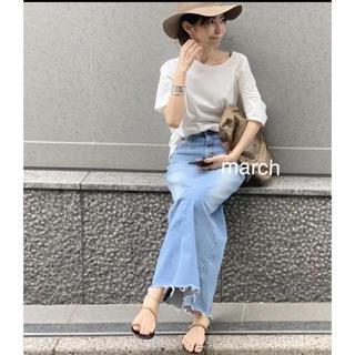 L'Appartement DEUXIEME CLASSE - 新品タグ付 アパルトモン GOOD GRIEF DENIM LONG スカート