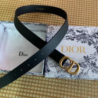 Dior - 【Dior】ディオール【SADDLE】サドル ナイロン ベルト CDロゴ