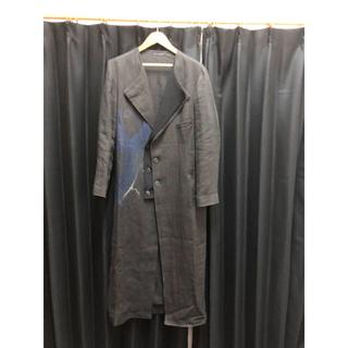 ヨウジヤマモト(Yohji Yamamoto)のヨウジヤマモト 20ss 朝倉優佳 麻ロングドレス(チェスターコート)