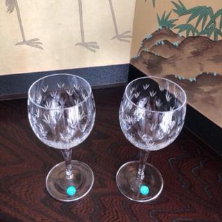 ティファニー(Tiffany & Co.)のティファニーペアワイングラス(グラス/カップ)