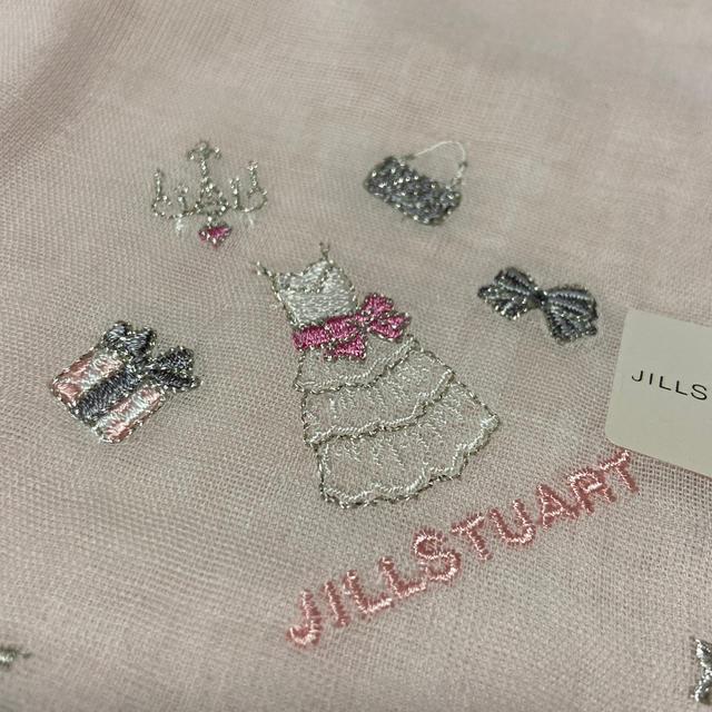 JILLSTUART(ジルスチュアート)のジルスチュアートガーゼハンカチ新品未使用シール付き レディースのファッション小物(ハンカチ)の商品写真