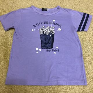 ベベ(BeBe)のTシャツ 130 BeBe(Tシャツ/カットソー)