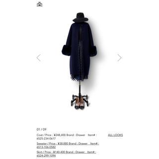 Drawer - 140,400円 17AW ドゥロワー drawer ラメドット スカート 36