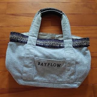 ベイフロー(BAYFLOW)のベイフロー ロゴトートバッグ スウェット(トートバッグ)