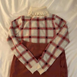 frill tops + fril skirt