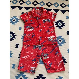 エフオーキッズ(F.O.KIDS)のアンパサンド ミッキー コラボ 半袖パジャマ★95(パジャマ)