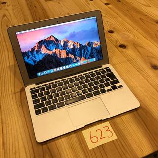 マック(Mac (Apple))の格安!MacBook air 11インチ mid2012(ノートPC)