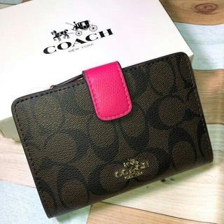 COACH 財布 二つ折り財布 F53562ラグジュアリー シグネチャー