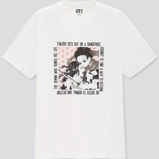 UNIQLO - ユニクロ Tシャツ  鬼滅の刃 XXS  新品未使用