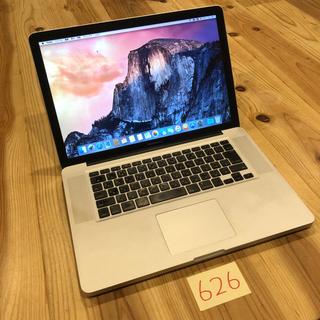 マック(Mac (Apple))の格安!MacBook pro 15インチ mid2009(ノートPC)