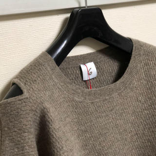 BEAUTY&YOUTH UNITED ARROWS - roku 6 shoulder 2 hole long knit ニット