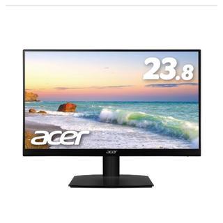 エイサー(Acer)の【新品未開封】ACER 23.8 インチ コンピュータモニタ 超薄型(ディスプレイ)