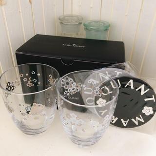 マリークワント(MARY QUANT)のMARY QUANT ノベルティー 非売品 デイジーグラスセット (グラス/カップ)